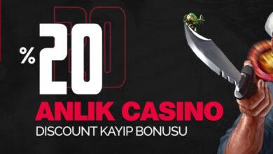 Photo of CaddeBet 20 Anlık Casino Kayıp Bonusu