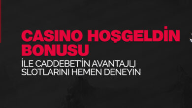 Photo of CaddeBet %100 Casino Hoşgeldin Bonusu