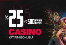 Photo of CaddeBeet %25 Casino 500 FreeSpin